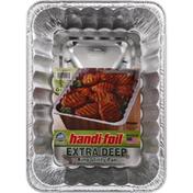 Handi-Foil Extra Deep BBQ King Utility Pan