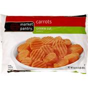 Market Pantry Carrots, Crinkle-Cut, Steam-In-Bag