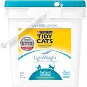 Purina Tidy Cats Light Weight, Low Dust, Clumping Cat Litter, LightWeight Instant Action Multi Cat Litter