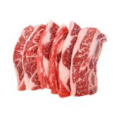 First Street Family Pack Choice Beef Chuck Flanken Style Ribs