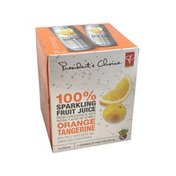President's Choice Orange Tangerine 100% Sparkling Fruit Juice From Concentrate