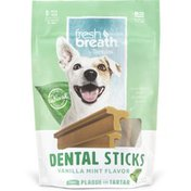 TropiClean Advance Cleaning Regular Dental Sticks for Dogs