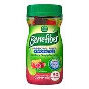 Benefiber Probiotics and Prebiotic Fiber Gummies, Probiotics and Prebiotic Fiber Gummies