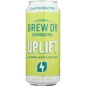 Brew Dr. Kombucha Kombucha, Organic, Caffeinated, Uplift
