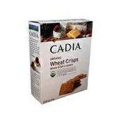 Cadia Organic Salted Wheat Crackers