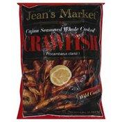 Jeans Market Crawfish, Cajun Seasoned Whole Cooked