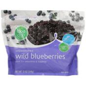 Food Club Unsweetened Wild Blueberries