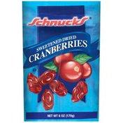 Schnucks Sweetened Dried Cranberries