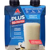 Atkins Creamy Vanilla Protein & Fiber Shake