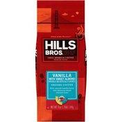 Hills Bros. Vanilla with Sweet Almond Light Roast Ground Coffee