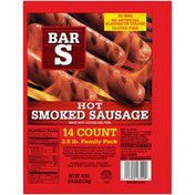 Bar-S Hot Smoked Sausage