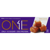 One Protein Bar, Salted Caramel Flavored