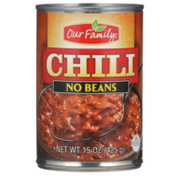 Our Family No Beans Chili