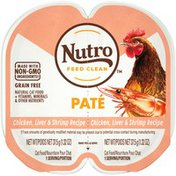 NUTRO Perfect Portions Paté Chicken, Liver & Shrimp Recipe Adult Cat Food
