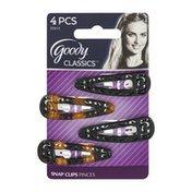 Goody Classics Snap Clips - 4 CT