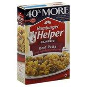 Hamburger Helper 40% More Beef Pasta