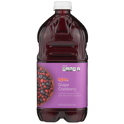 Hy-Vee Grape Cranberry Juice Drink Flavored From Concentrate