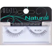 Ardell Lashes, Natural, Black 110