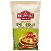 Arrowhead Mills Pancake & Waffle Mix, Organic, Sprouted Grain