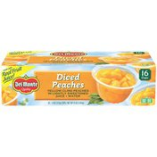 Del Monte Diced Peaches Fruit Cup Snacks