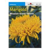 Burpee Marigold Mission Giant Yellow