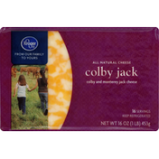 Kroger Cheese, Colby Jack