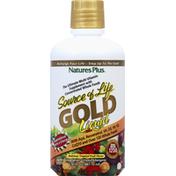 Nature's Plus Multi-Vitamin, Delicious Tropical Fruit Flavor, Gold, Liquid