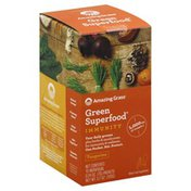 Amazing Grass Green Superfood, Immunity, Packets, Tangerine