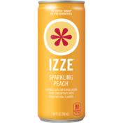 Izze Peach Flavored Juice Beverage