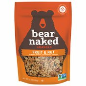 Bear Naked Granola Cereal, Vegetarian, Fruit and Nut