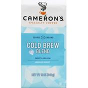 Camerons Coffee, Course Ground, Medium Roast, Cold Brew Blend