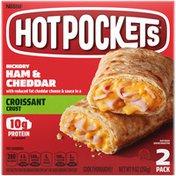 Hot Pockets Hickory Ham & Cheddar Croissant Crust Frozen Snacks