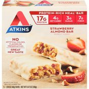 Atkins Strawberry Almond Bar Protein Bars