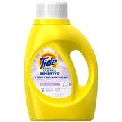 Tide Simply Clean & Sensitive HE Liquid Laundry Detergent, Cool Cotton Scent, 24 Loads 50 Fl Oz Laundry