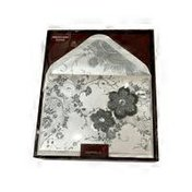 Papyrus Recycled Greetings Inc. Lace & Flowers Handmade Boxed General Invitation Note Cards