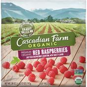 Cascadian Farm Organic Red Raspberries, Organically Farmed, Non-GMO