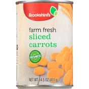 Brookshire's Carrots, Farm Fresh, Sliced
