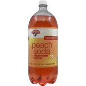 Hannaford Caffeine Free Peach Soda
