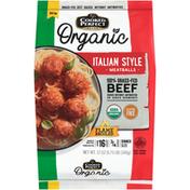 Cooked Perfect Organic Beef Italian Style Meatballs