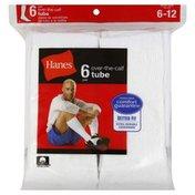 Hanes Socks, Over-The-Calf Tube, Mens'