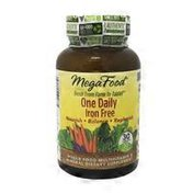 MegaFood One Daily Iron Free Tablets Whole Food Multivitamin & Mineral Dietary Supplement