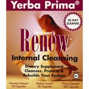 Yerba Prima Internal Cleansing Kit, Renew, Womens