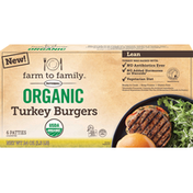 Butterball Lean Organic Turkey Burgers