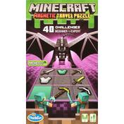 Thinkfun Travel Puzzle, Magnetic, Minecraft