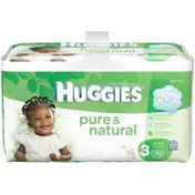 Huggies Pure And Natural Size 3 Diapers