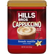 Hills Bros. French Vanilla Cappuccino Café Style Drink Mix