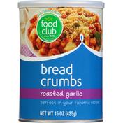 Food Club Bread Crumbs, Roasted Garlic
