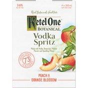 Ketel One Vodka Spritz Peach & Orange Blossom