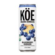 KÖE Organic Kombucha Blueberry Ginger