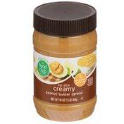 Food Club No Stir Creamy Peanut Butter Spread